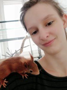 Sarah Rotter, Tierpflege