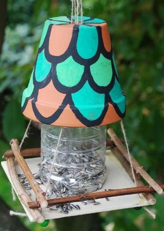 bauen sie ihre eigene vogelfutterstelle! - wildtierhilfe wien, Best garten ideen
